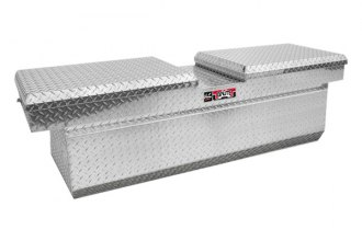 Westin® - Brute™ Aluminum Deep Dual Lid Gull Wing Crossover Tool Box with Slant
