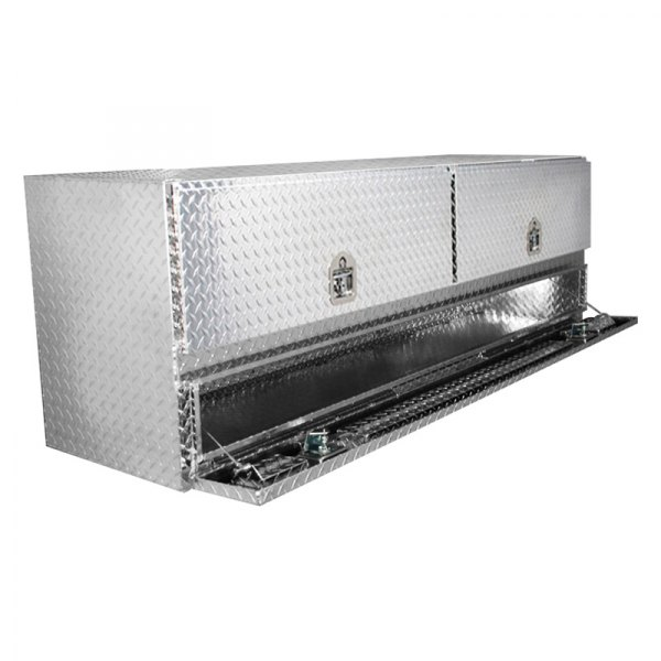 Westin 80-TB400-72-BD Brute Pro Series High Capacity Stake Bed Contractor Top Sider Tool Box