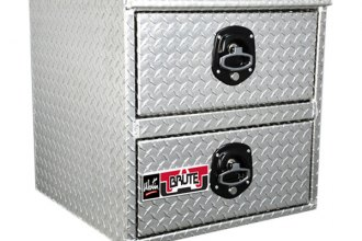 Westin® - Brute™ HD Underbody Aluminum Tool Box with Top and Bottom Drawers
