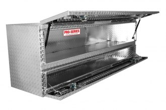 Westin® - Brute™ Aluminum High Capacity Stake Bed Contractor TopSider Tool Box with Doors