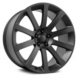 WHEEL REPLICAS® - 2005 CHRYSLER 300 SRT 8 Matte Black