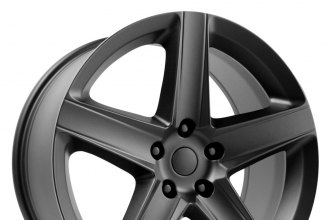 WHEEL REPLICAS® - 2006 JEEP SRT 8 Satin Black