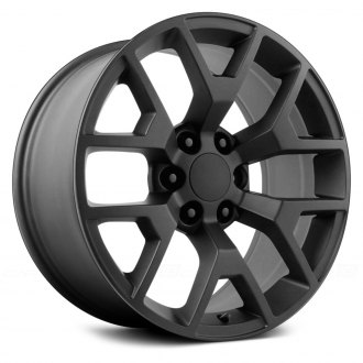 WHEEL REPLICAS® - 2014 GMC SIERRA Satin Black