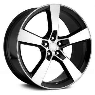 WHEEL REPLICAS® - CAMARO-SS Gloss Black with Machined Face