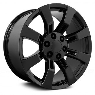WHEEL REPLICAS® - GMC YUKON DENALI Satin Black
