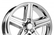 "WHEEL REPLICAS® - IROC Chrome (18"" x 8"", 0 Offset, 5x120.65 Bolt Pattern, 73.1mm Hub)"