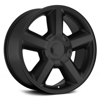 WHEEL REPLICAS® - LTZ Matte Black