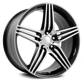 WHEEL REPLICAS® - SL63 Gunmetal with Machined Face