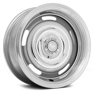 WHEEL VINTIQUES® - CAMARO STYLE RALLYE Powder Coated Silver