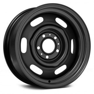 WHEEL VINTIQUES® - CHRYSLER POLICE Satin Black