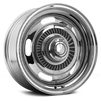 WHEEL VINTIQUES® - CORVETTE STYLE RALLYE Chrome
