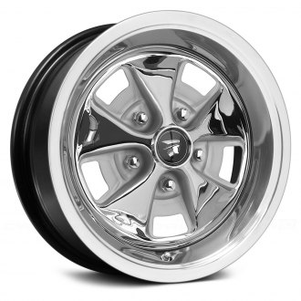 WHEEL VINTIQUES® - MERCURY COUGAR Black with Chrome Center