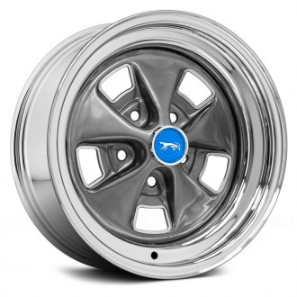 WHEEL VINTIQUES® - MERCURY COUGAR Chrome with Argent Center