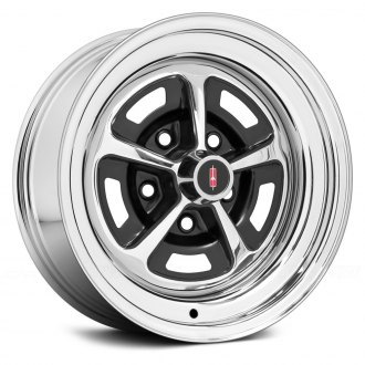 WHEEL VINTIQUES® - OLDS SSI Chrome with Semi Gloss Black Windows
