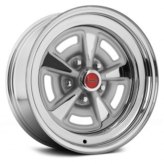 WHEEL VINTIQUES® - PONTIAC RALLYE II Chrome with Metallic Gray Windows