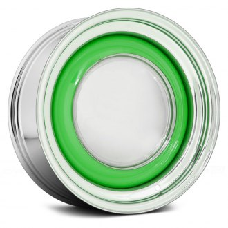 WHEEL VINTIQUES® - SOLID Chrome with Generic Color Center