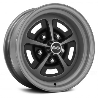 WHEEL VINTIQUES® - SS 396 Silver with Semi Gloss Black Windows