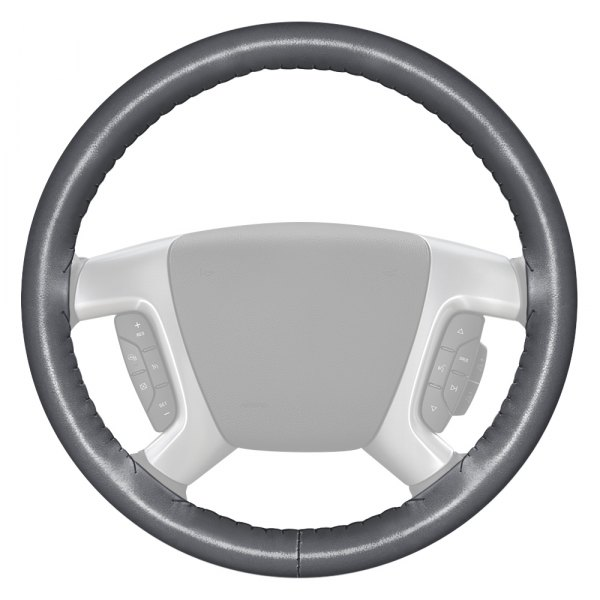 Smooth Artificial Leather Steering Wheel Wrap Cover for Honda Civic 8 2006-2009