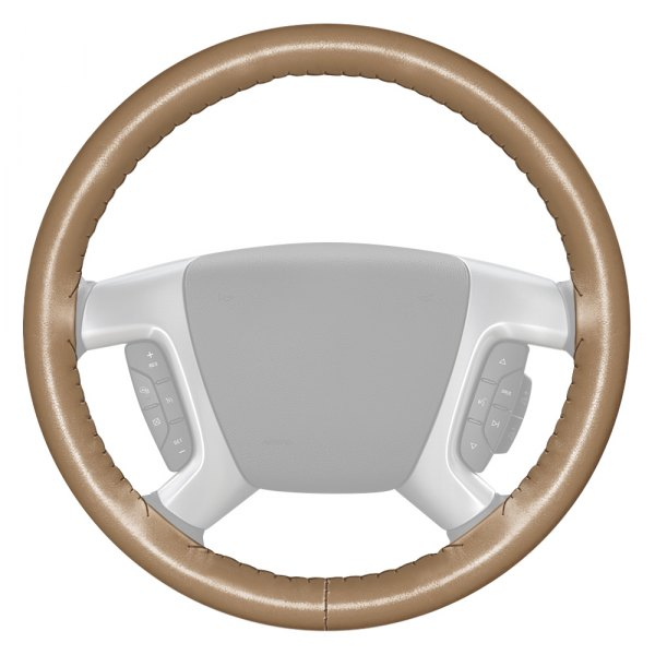 SAND 2005 Ford F-150 Leather Steering Wheel Cover Wheelskins 15 3//4 X 3 7//8