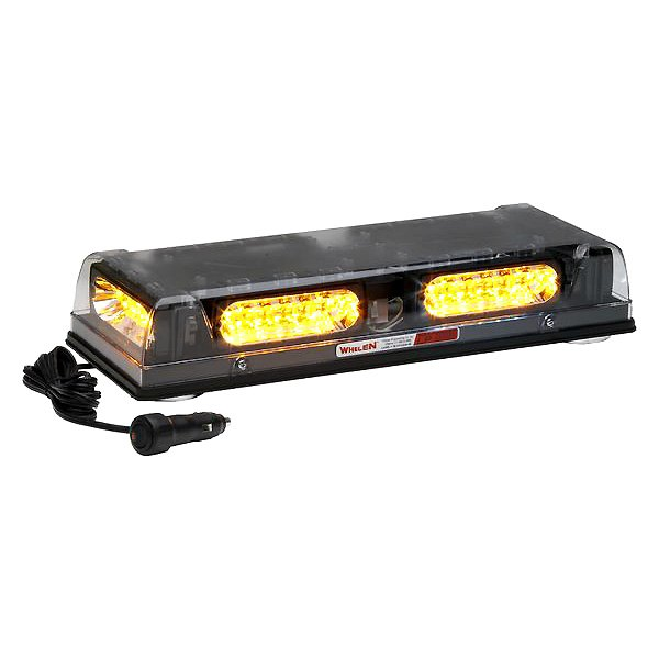 Amber Whelen Engineering Responder LP Series Mini Lightbar Permanent Mount