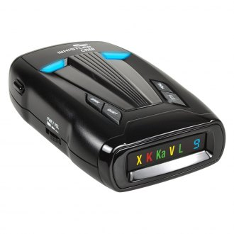 Whistler® - Laser Radar Detector with LED Icon Indicators and Advanced False-Alert Detection