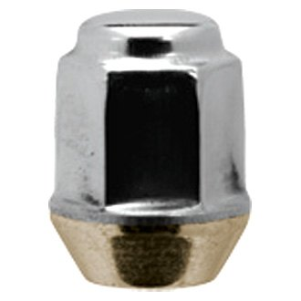 White Knight® - Stainless Steel Capped Cone Seat Short Bulge Acorn Lug Nuts