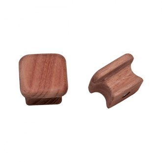 "Whitecap® - Teak 1-1/8"" Square Drawer Knob"