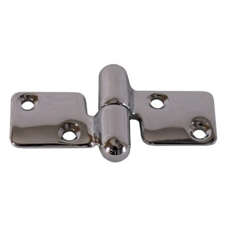 "WhiteCap® - 1/2"" Stainless Steel Take-Apart Hinge"