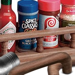 Whitecap® - Large Spice Rack