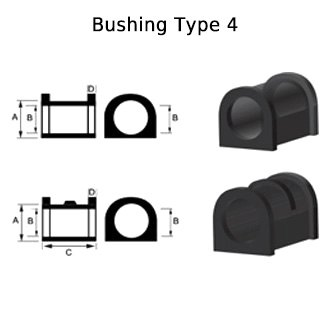 Whiteline® - Front Rack and Pinion Mount Bushing