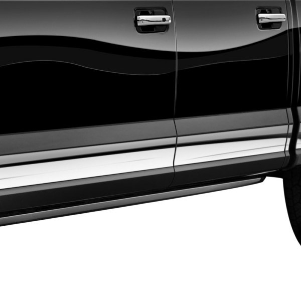 Willmore® - Tread Brite Polished A-Fit Rocker Panel Covers