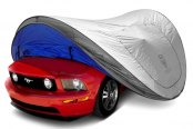 Image may not reflect your exact vehicle! Willpak® - Gray Touchless Car Cover