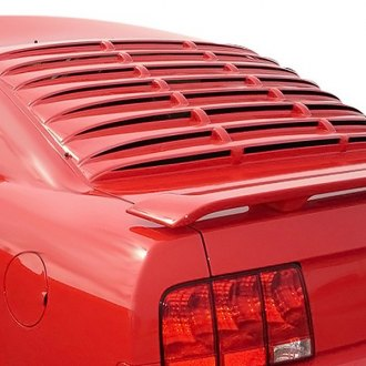 Willpak® - Smooth Surface ABS Plastic Rear Window Louver