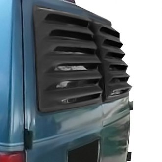 Willpak® - Textured Surface ABS Plastic Rear Window Louver
