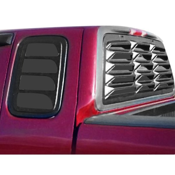 Willpak® - Classic Design Textured Surface ABS Plastic Rear Window Louver