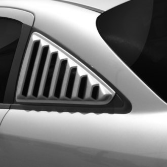 Willpak® - 10 Vent Style ABS Plastic Side Window Louvers
