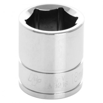 "Wilmar® - 6-Point Chrome Plated 3/8"" Drive Socket"