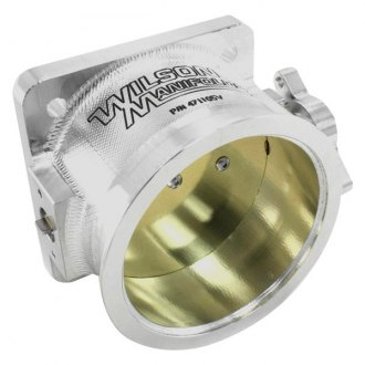 "Wilson Manifolds® - 105mm 4.250"" OD Throttle Body with V-Band Provision"