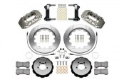 Wilwood® - W6A Big Brake Front Brake Kit with Nickel Plate Calipers