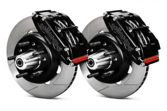 Wilwood® - Road Racing Brake Kit with Black Anodized Calipers