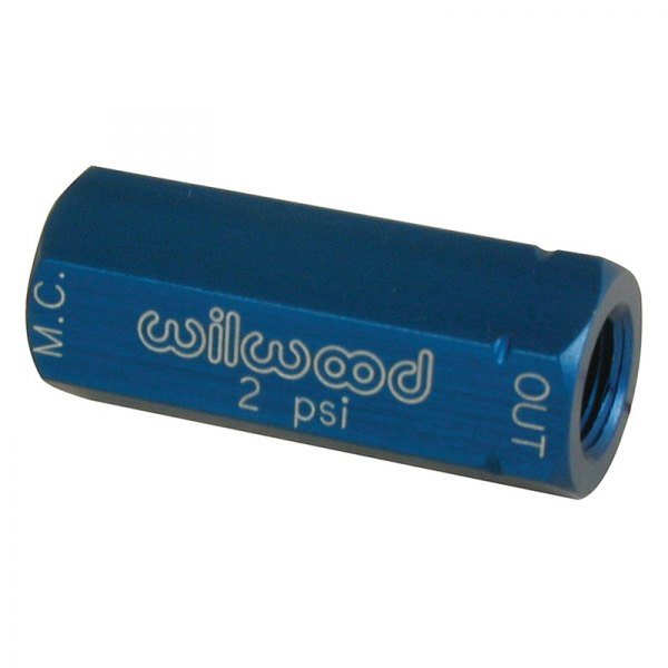 Wilwood® - Blue Residual Pressure Valve W/O Fittings