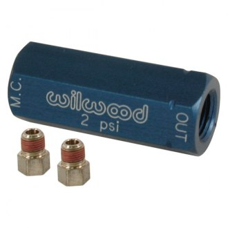 Wilwood® - Blue Residual Pressure Valve with Fittings