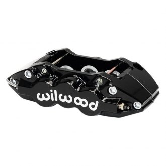 Wilwood® - W6A 6-Pistons Black Powder Coated Front Driver Side Caliper