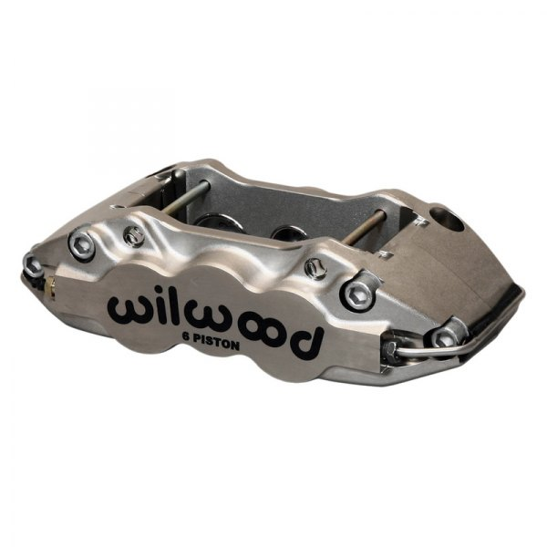 Wilwood® - W6A 6-Pistons Nickel Plate Front Driver Side Caliper