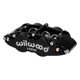 Wilwood® - Forged Narrow Superlite 6R 6-Pistons Black Powder Coated Front Passenger Side Caliper