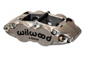 Wilwood® - Forged Narrow Superlite 6R 6-Pistons Nickel Plate Front Driver Side Caliper