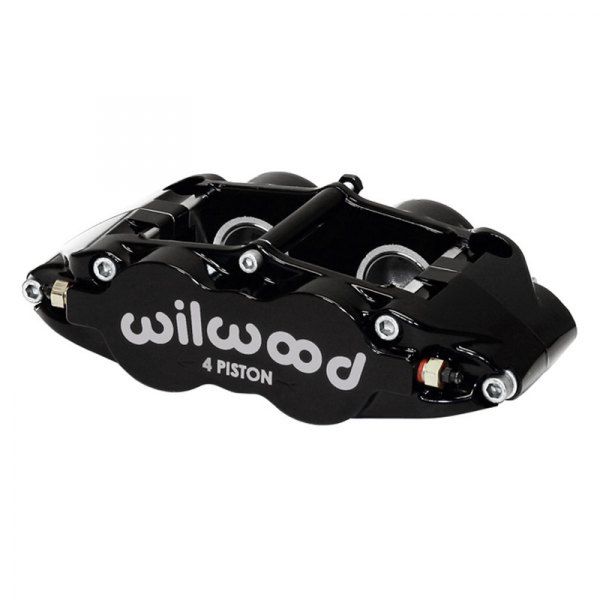 Wilwood® - Forged Narrow Superlite 4R 4-Pistons Black Powder Coated Rear Caliper