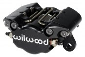 Wilwood® - Dynapro Single 2-Pistons Black Anodize Front Caliper