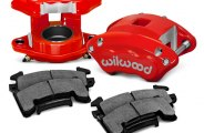 Wilwood® - D154 1-Piston Front Caliper Kit
