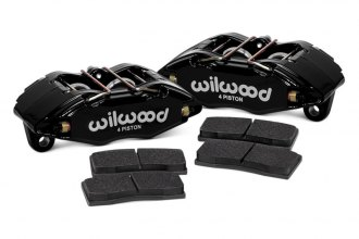 Wilwood® - Forged DPHA 4-Pistons Front Caliper Kit